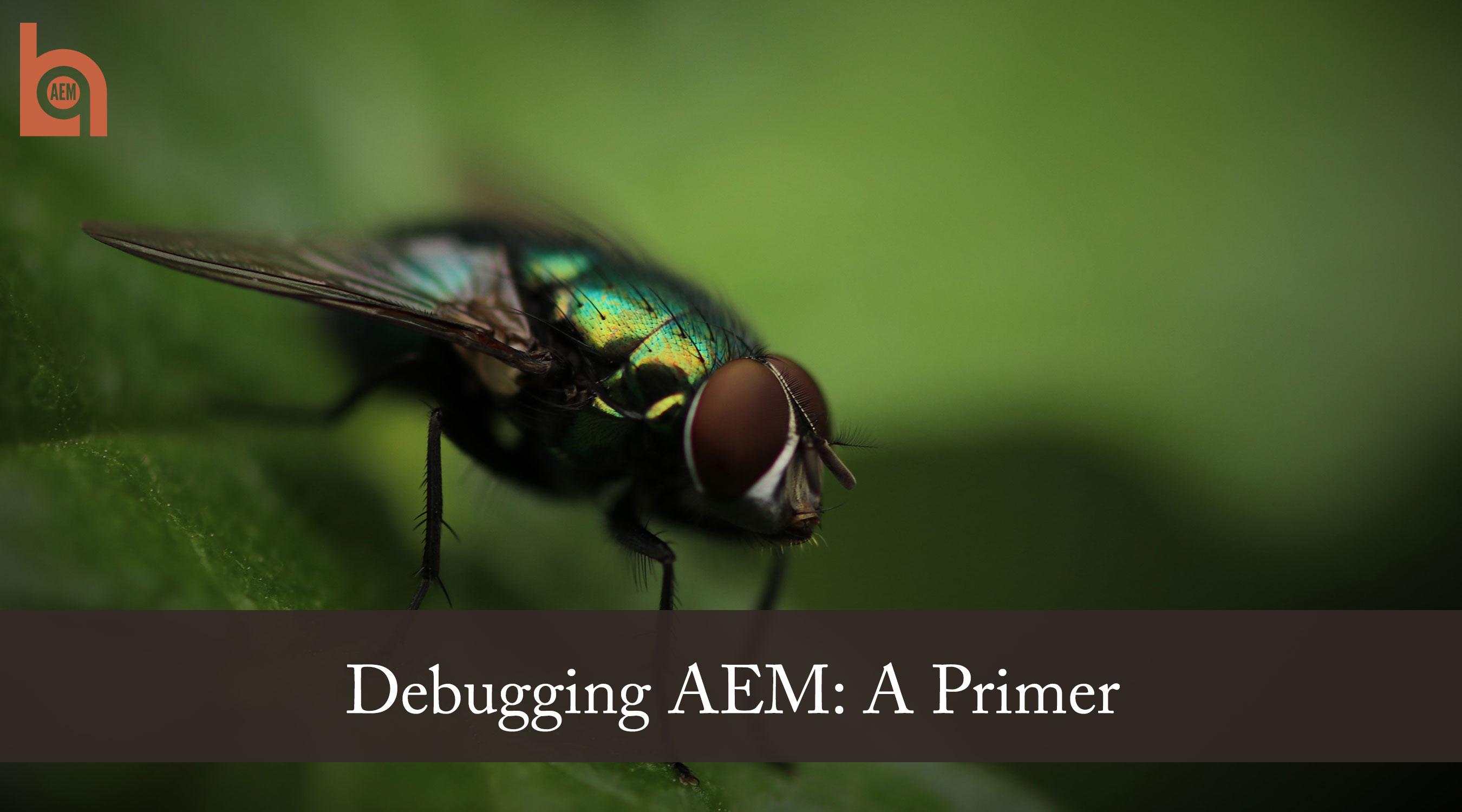 Debugging AEM: A Primer