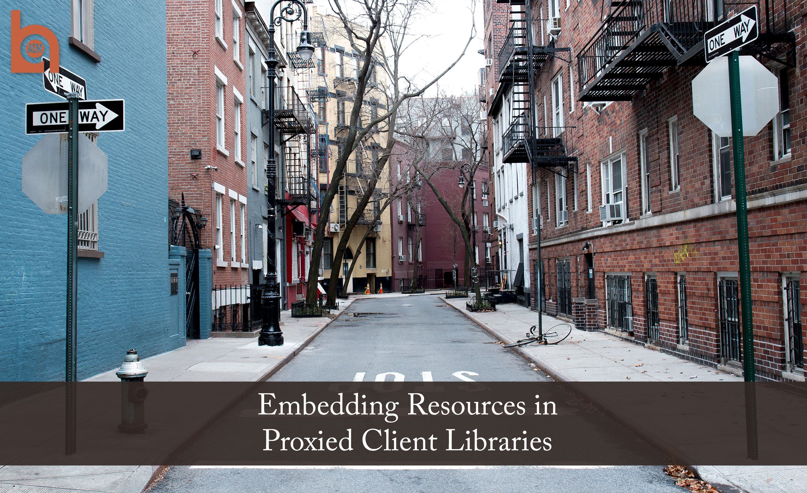 Embedding Resources in Proxied Client Libraries