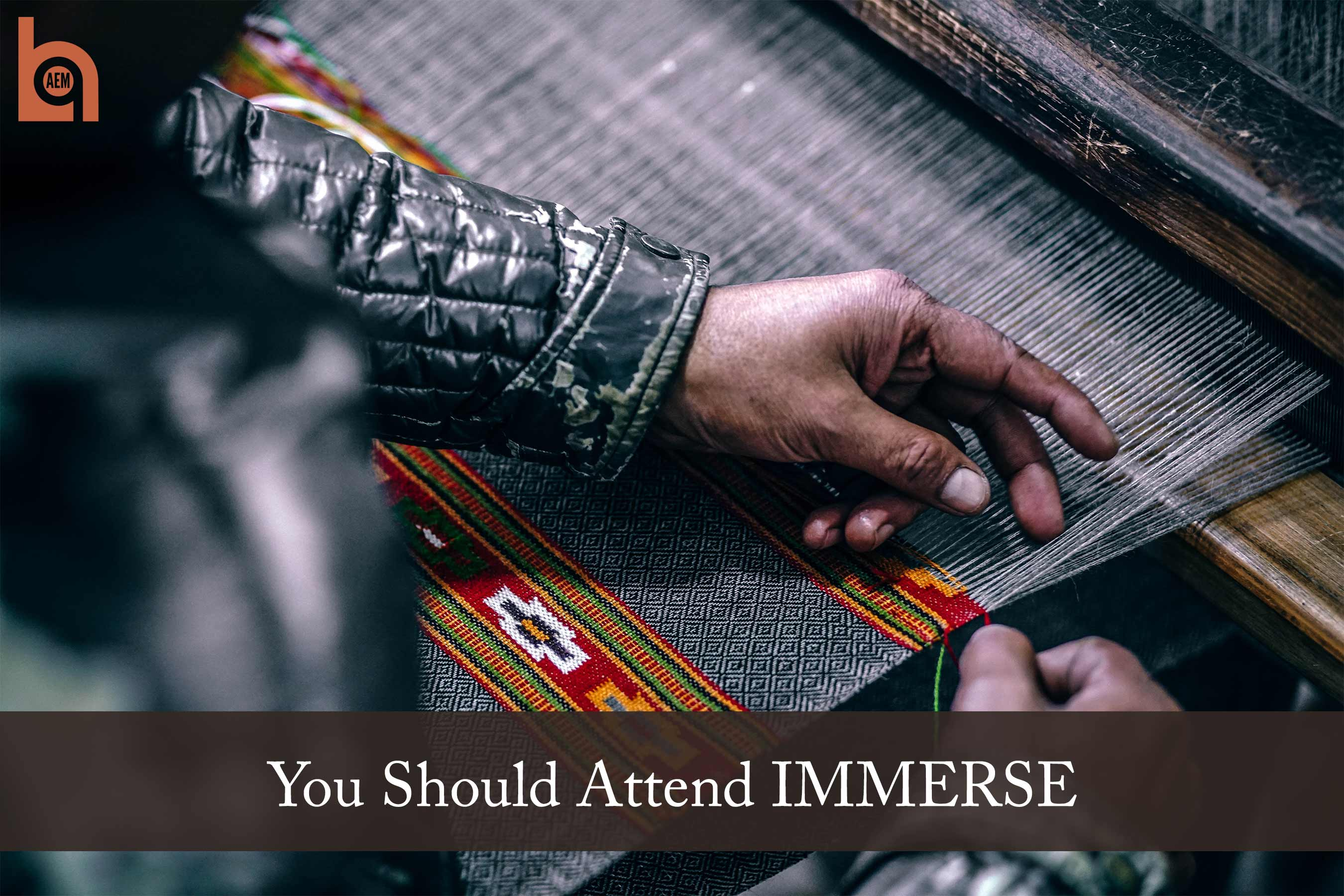 You Should Attend IMMERSE